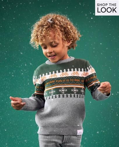 Un pull de Noël supercool de Baptiste